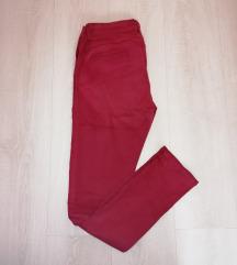 Bordó sztreccs nadrág