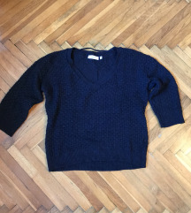 C&A sötétkék pulóver