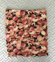 Bershka virágmintás virágos pamut szoknya