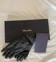 eredeti PRADA bőrkesztyű