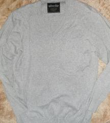 M-es szürke Tchibo férfi pulóver