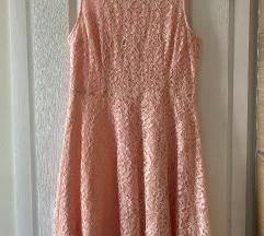 C&A Yessica barack színű csipkés női ruha 40