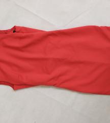 Zara korall színű ruha