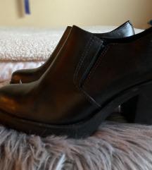 Vagabond fekete bőr félcipő