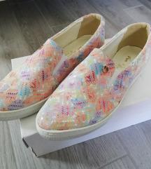 Via Roma slipon slip on bőr cipő