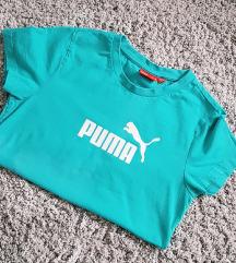 Eredeti PUMA logózott türkiz póló XS/S