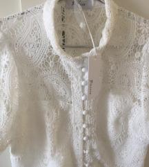 Fehér új csipke ruha