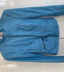 Vero Moda kék női bőrdzseki bőrkabát M