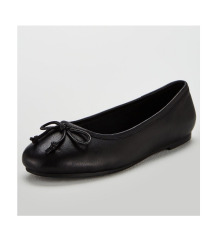 La Halle bőr masnis balerina cipő (37-38)