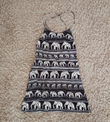 Indonéz elefántos ruha