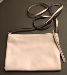 H&M púderrózsaszín táska