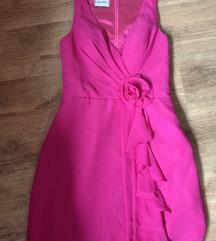 Új rózsaszín alkalmi ruha L/XL