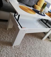 Kinyitható /magasithato dohányzó asztal