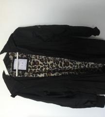 Fekete hosszú kabat