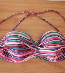 • 85/D csíkos bikinifelső •