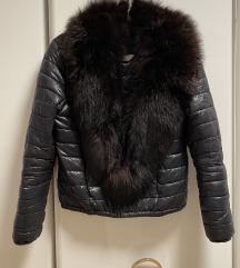 Festett róka gallér XL fekete barna