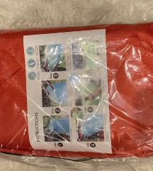 Levegővel tölthető matrac, tároló táskával