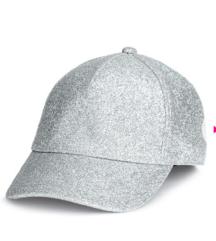 H&M ezüst,csillámos baseball sapka új,cimkés