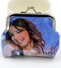 Violetta (Tini Stoessel) csatos pénztárca