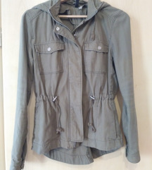 Terepzöld átmeneti kabát (H&M)