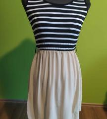 Új nyári csíkos ruha
