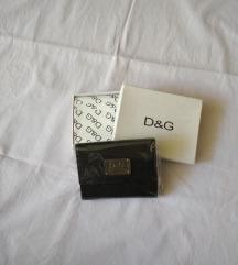 D&G fekete pénztárca