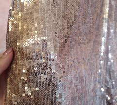 Rose Gold flitteres party overall