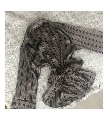 LEÁRAZVA! ZARA megkötős blúz/kimono