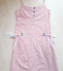 Women'secret, piros csíkos ruha, S
