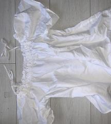 h&m elegáns fehér felső nyári új