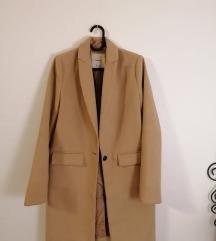 Bershka teve színű kabát