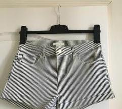 H&M csíkos short