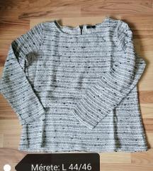 Cirmos-szürkés pulcsi