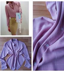 Rózsaszín kockás ing