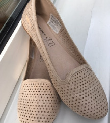 Bézs balerina cipő