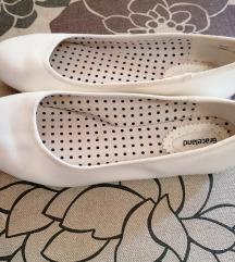 Graceland, női, fehér belerina cipő, 41-es