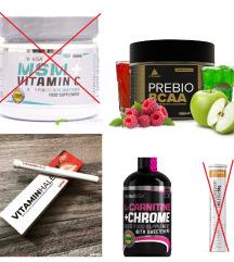 Vitaminok, étrendkiegészítők