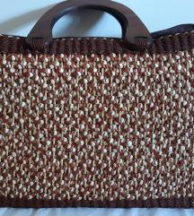 Női kézi táska, újonnan, barna