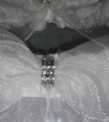 2 db-os Harisnya-tartó Swarovski kristályokkal