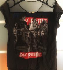 Sex Pistols póló a Retrockból necc betéttel