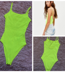 Pull and Bear neon body Xs