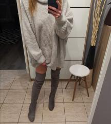 Zara szürke pulcsi