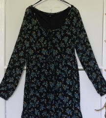 Muszlin virágos ruha