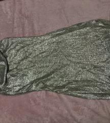 H&M csillámos ruha