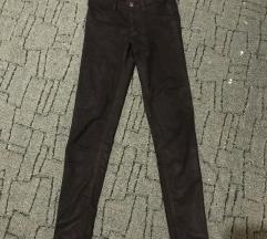 Fekete csillogós csipkés nadrág