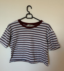 Pull&Bear csíkos crop top