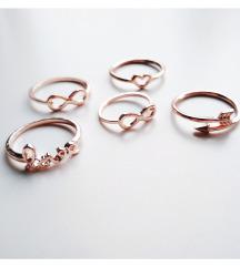 Rosegold gyűrűk - újak