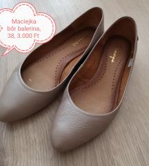 Maciejka bőr balerina