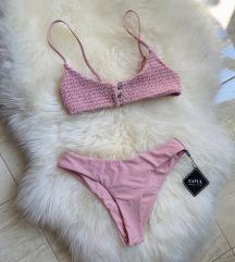 Vadiúj Zaful bikini fürdőruha S méret rózsaszín