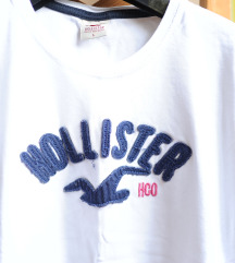 Hollister női fehér póló M